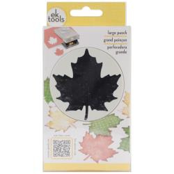 E5430157 Large Punch Maple Leaf, 2.25""