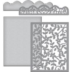 S6117 Spellbinders Card Creator Die Framed Floral