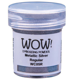 WC05R  Wow! Metallic powder Silver