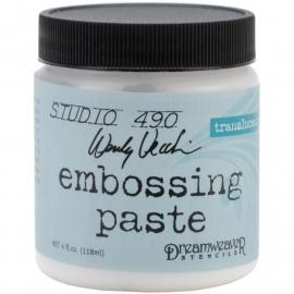 276919 Studio 490 Embossing Paste Transluscent