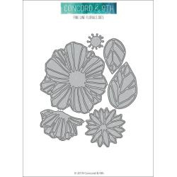 10574 Concord & 9th Dies Fine Line Florals