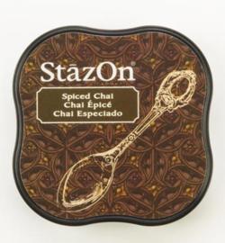 SZM-45 Tsukineko Stazon Midi Ink Pad Spiced Chai
