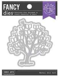 652511 Hero Arts Fancy Dies Tree Of Knowledge