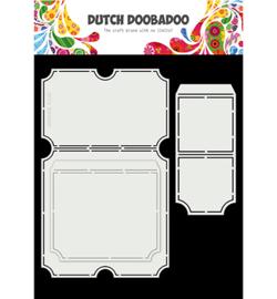470.713.749 Dutch DooBaDoo Card Art Tickets