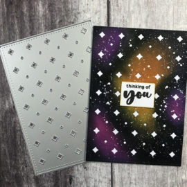 T4T/317/Spa/Sta Time For Tea Sparkle Cover Plate Dies