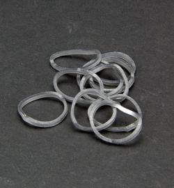 45068 - Band-it - Elastieken Zilver 600st