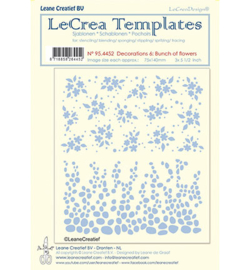 95.4452 LeCrea Templates Bunch of flowers