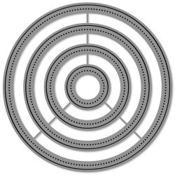 LF1279 Lawn Cuts Custom Craft Die Large Dot Circle