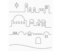 MFT-1610 My Favorite Things Little Town of Bethlehem Die-namics