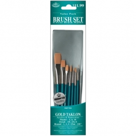 3251532 Brush Set Value Pack Gold Taklon