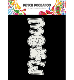 470.713.761 Dutch DooBaDoo Card Art Meow A5