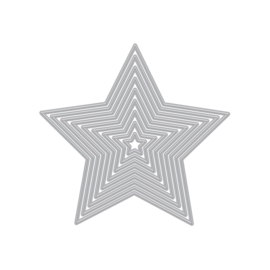 642629 Hero Arts Infinity Dies 5-Point Stars