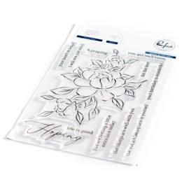 "651220 Pinkfresh Studio Clear Stamp Set Choose Hope 4""X6"""