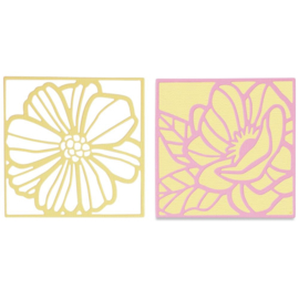 665177 Sizzix Thinlits Dies Floral Card Fronts By Olivia Rose 3/Pkg