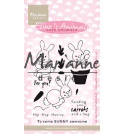 EC0178 Stempel Eline's cute animals bunnies