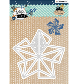 STENCILWJ232 StudioLight Embossing Die, Winter Joys nr.232