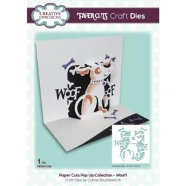 CEDPC1150 Creative Expressions Craft die Craft die paper cuts Woof!