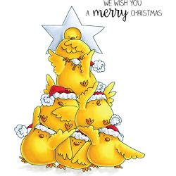 257106 Stamping Bella Cling Stamps The Chick Tree
