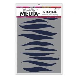 MDS60628 Ranger Dina Wakley media stencil gusts