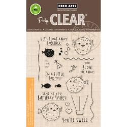 """HA-CM170 Hero Arts Clear Stamps I'm A Puffer For You 4""""X6"""""""