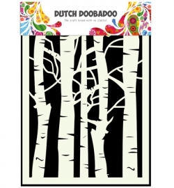 470.715.045 Dutch DooBaDoo Mask Art A5 Birch Trees