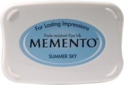 407306 Memento Full Size Dye Inkpad Summer Sky