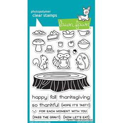 "LF1464  Lawn Fawn Clear Stamps Forest Feast 4""X6"""