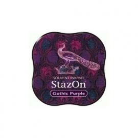 SZM-13 Tsukineko Stazon Midi Ink Pad  Gothic Purple