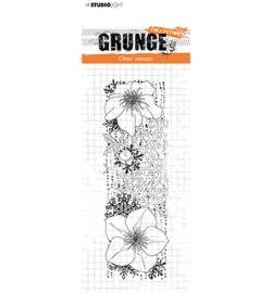 SL-GR-STAMP100 StudioLight Clear Stamp Helleborus Grunge nr.100
