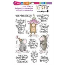 226927 Stampendous Perfectly Clear Stamps Friend Wishes