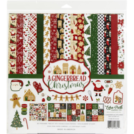 """633664 Echo Park Collection Kit A Gingerbread Christmas 12""""X12"""""""
