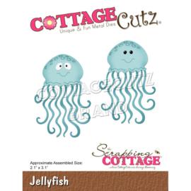 """CC758 CottageCutz Dies Jellyfish 2.1""""X3.1"""""""