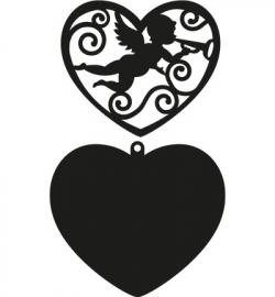CR1283 Craftables - Filigree Angel Heart