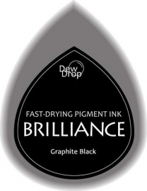 BDIP82 Dew Drops Graphite Black