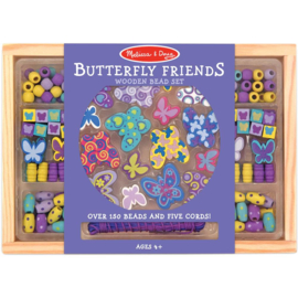 207229 Houten Kralen set Butterfly Friends