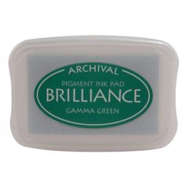 BR1-21 Brilliance ink pad gamma green