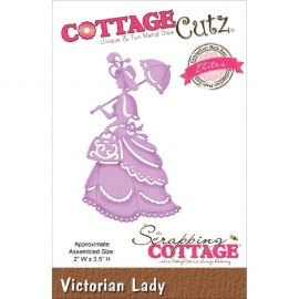 "423168 CottageCutz Elites Die Victorian Lady, 2""X3.5"""