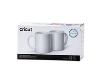 2007821 Cricut Ceramic Mug White 350ml (2pcs)