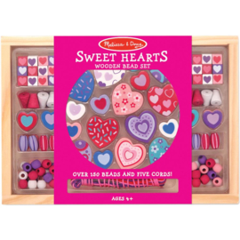 207227 Houten Kralen set Sweet Hearts