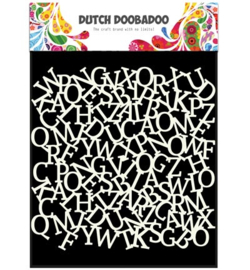 470.715.603 Dutch DooBaDoo Dutch Mask Art Alfabet