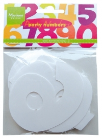 CA3111 Decoration Party Numbers Large