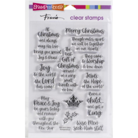 SSC1414 Stampendous Perfectly Clear Stamps Child King