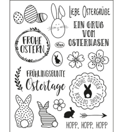4003.210.00 Clear stamp Frohe Ostern