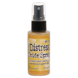 TSO 64756 Tim Holtz Distress Oxide Spray Fossilized Amber 2oz