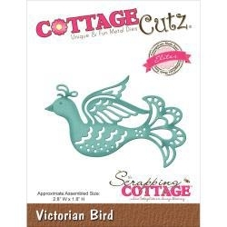 "423149 CottageCutz Elites Die Victorian Bird, 2.8""X1.8"""