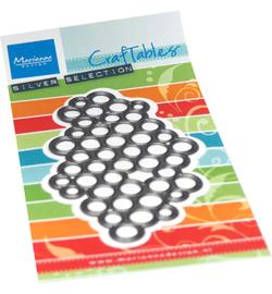CR1534 Marianne Design Craftables Art texture Dots