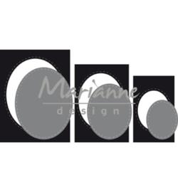 CR1467 Craftables Basic passe-partouts Ovals