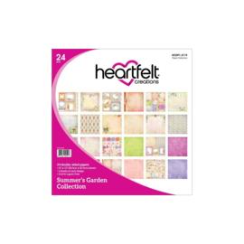 "HCDP1-2119 Heartfelt Creations Double-Sided Paper Pad Summer's Garden 12""X12"""