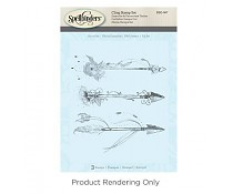 DSC-047 Spellbinders Arrow Set 3D Shading Stamp