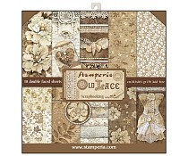 SBBL32 Stamperia Old Lace 12x12 Inch Paper Pack